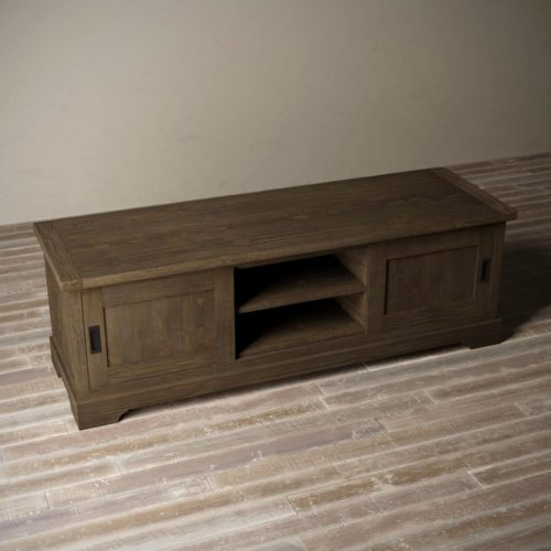 Urban Woodcraft | 68'' Muskoka TV Stand in Salvaged Espresso 3