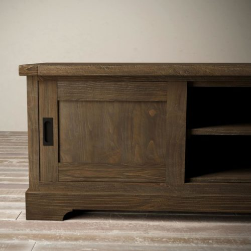 Urban Woodcraft | 68'' Muskoka TV Stand in Salvaged Espresso 5