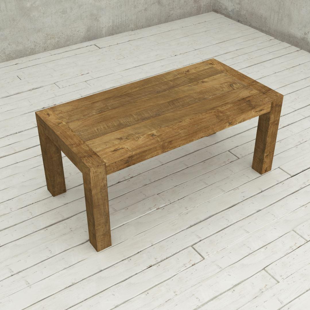 "Urban Woodcraft | 70"" Reclaimed Teak Natural Villa Dining Table 5"