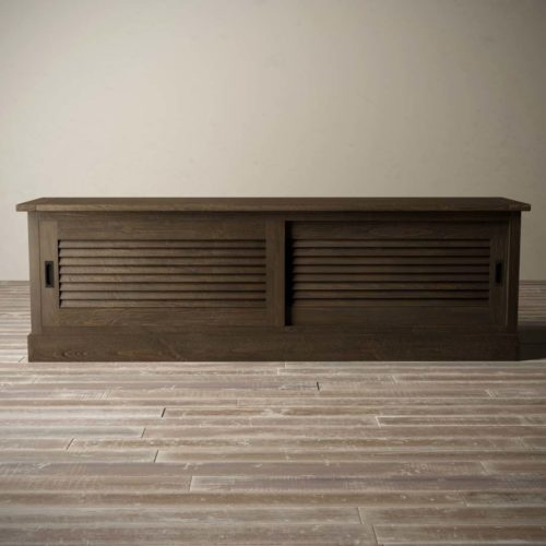 Urban Woodcraft | 75'' Amalfi Salvaged Espresso TV Stand 4