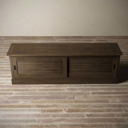 Urban Woodcraft | 75'' Amalfi Salvaged Espresso TV Stand 7