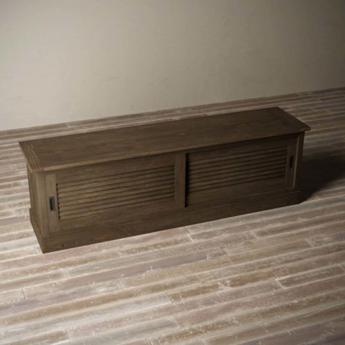 Urban Woodcraft | 75'' Amalfi Salvaged Espresso TV Stand 8