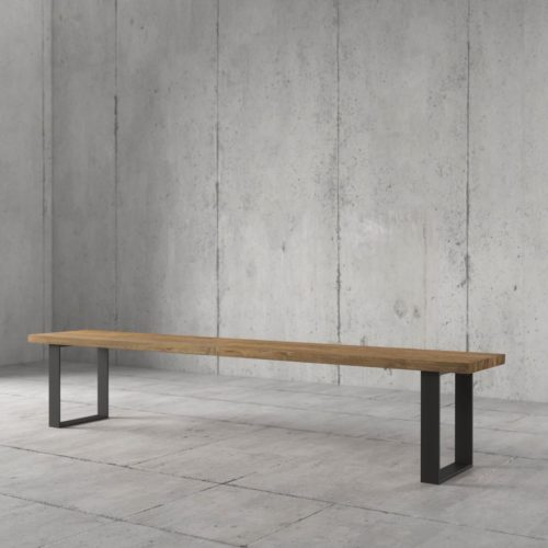Urban Woodcraft | 75'' Soma Natural Bench 4