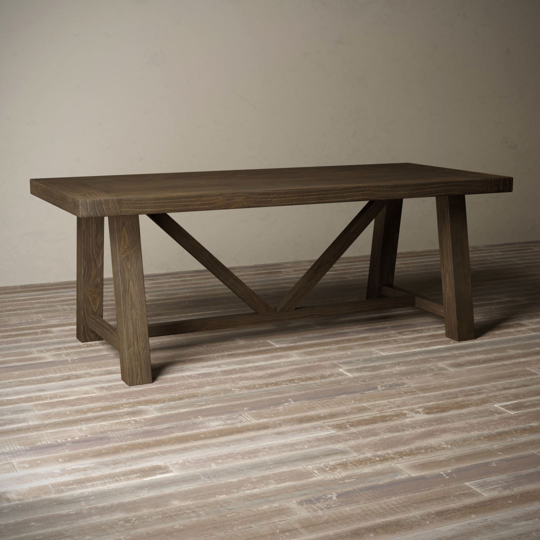 Urban Woodcraft Brown Espresso Coffee Salvaged Farmhouse Table Beautiful Shop Now Gorgeous Reclaimed Wood Furniture