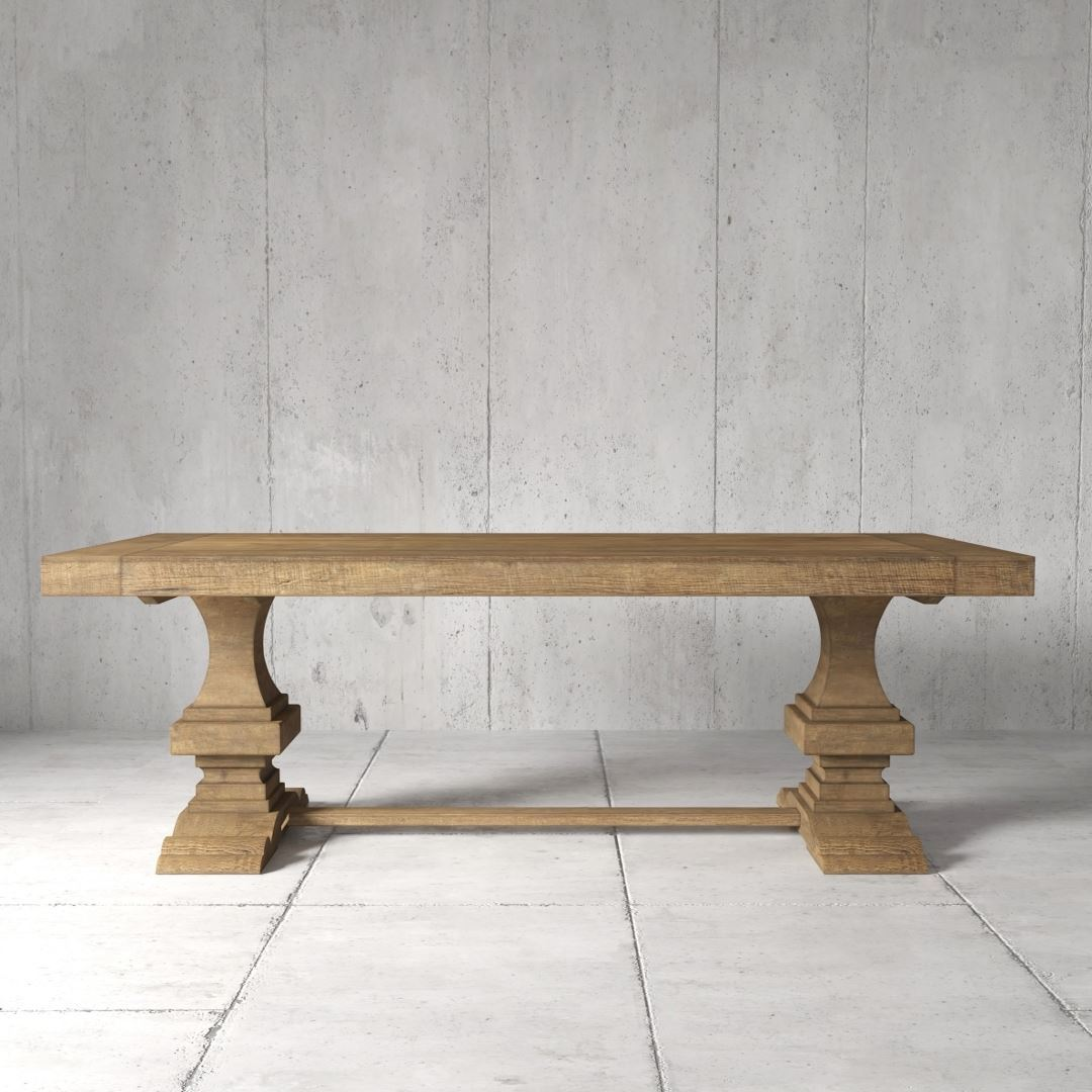 Urban Woodcraft | 98'' Castello Dining Table 1 MAIN