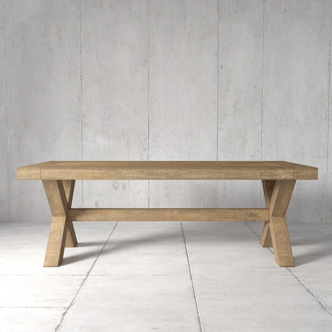 Urban Woodcraft | 98'' Grand-X Dining Table 1 MAIN