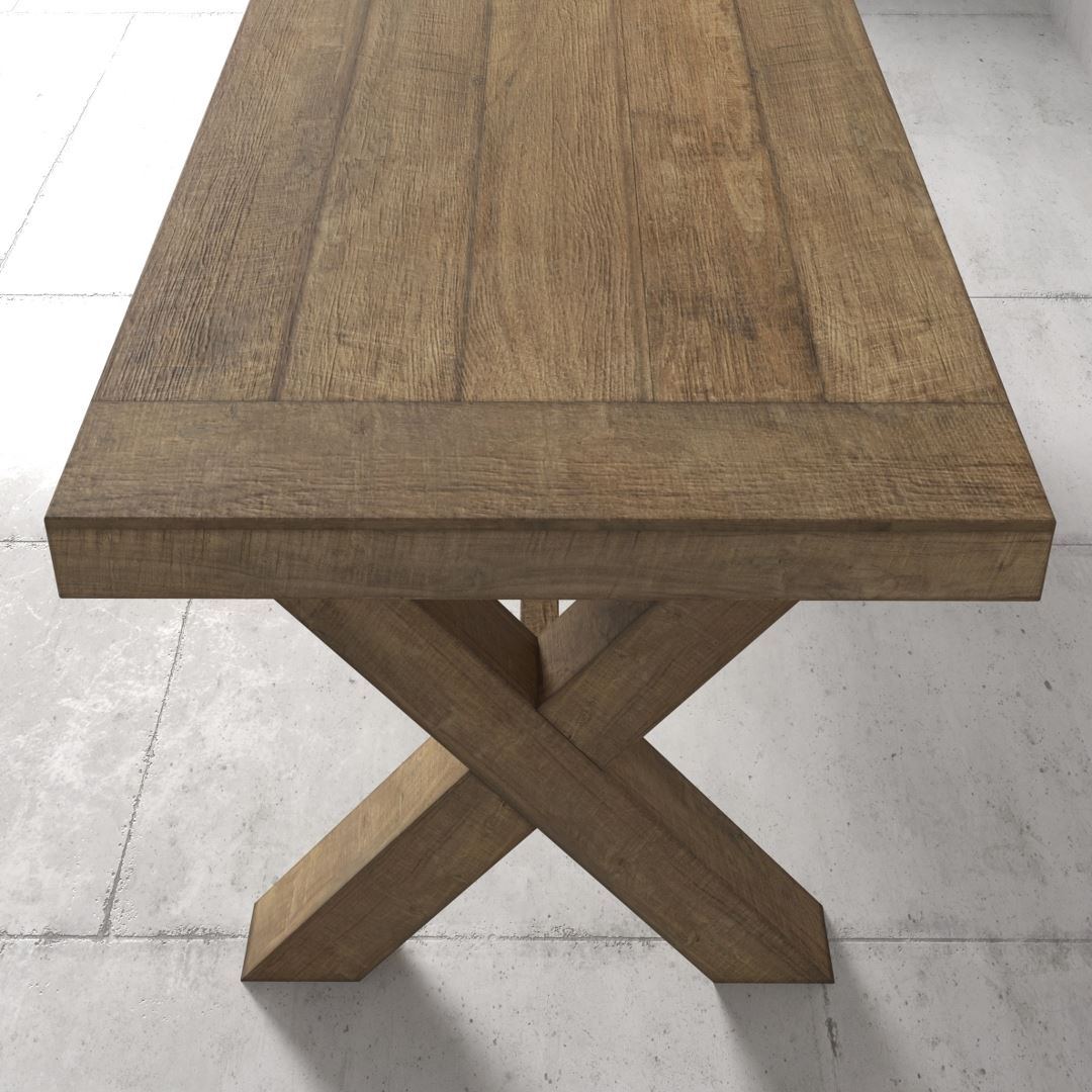 Urban Woodcraft | 98'' Grand-X Dining Table 4