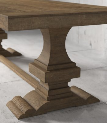 Urban Woodcraft | 98'' Natural Castello Dining Table