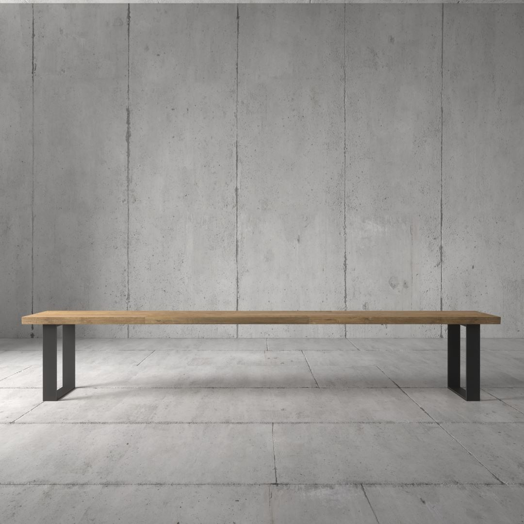 Urban Woodcraft | 98'' Soma Natural Bench