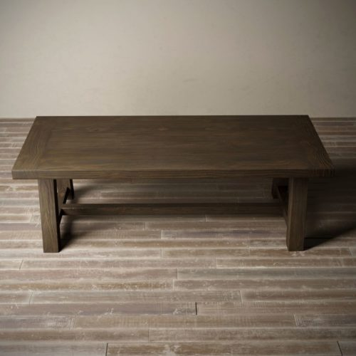 "Urban Woodcraft | 98"" Salvaged Espresso Farmhouse Dining Table 5"