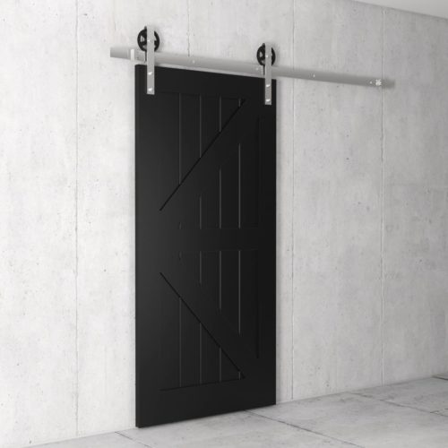 Urban Woodcraft | British Brace Espresso Barn Door 3