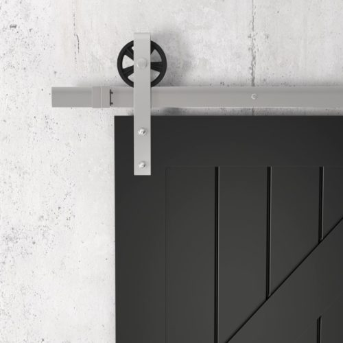 Urban Woodcraft | British Brace Espresso Barn Door 4