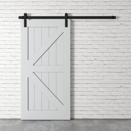 Urban Woodcraft | British Brace Grey Barn Door 2