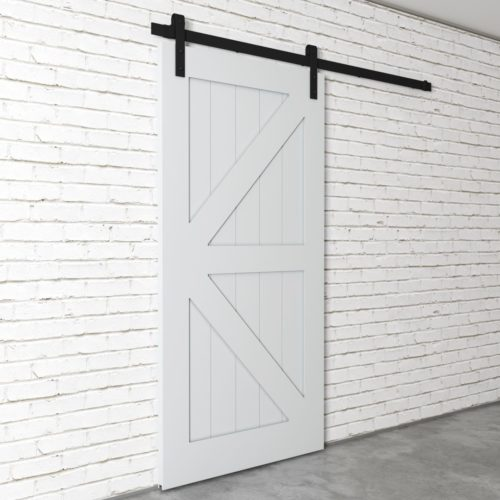 Urban Woodcraft | British Brace Grey Barn Door 3