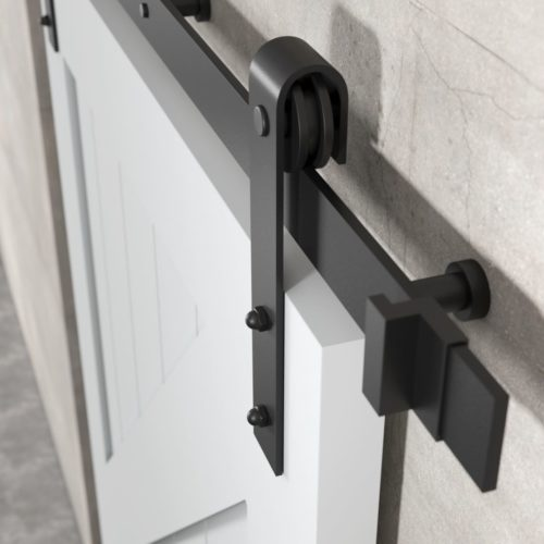 Urban Woodcraft | British Brace Grey Barn Door 5