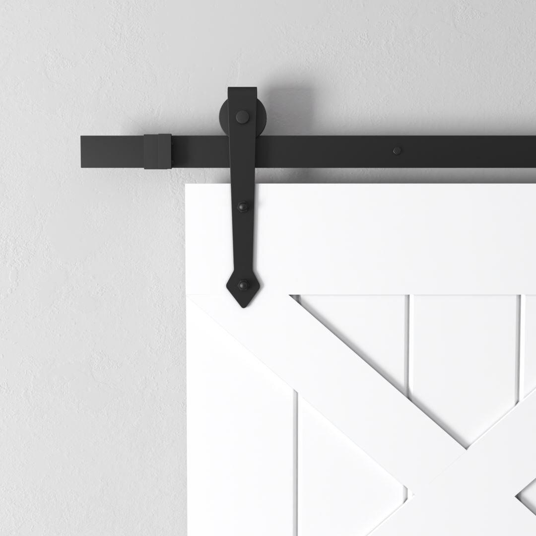 Urban Woodcraft | Double X White Barn Door 3