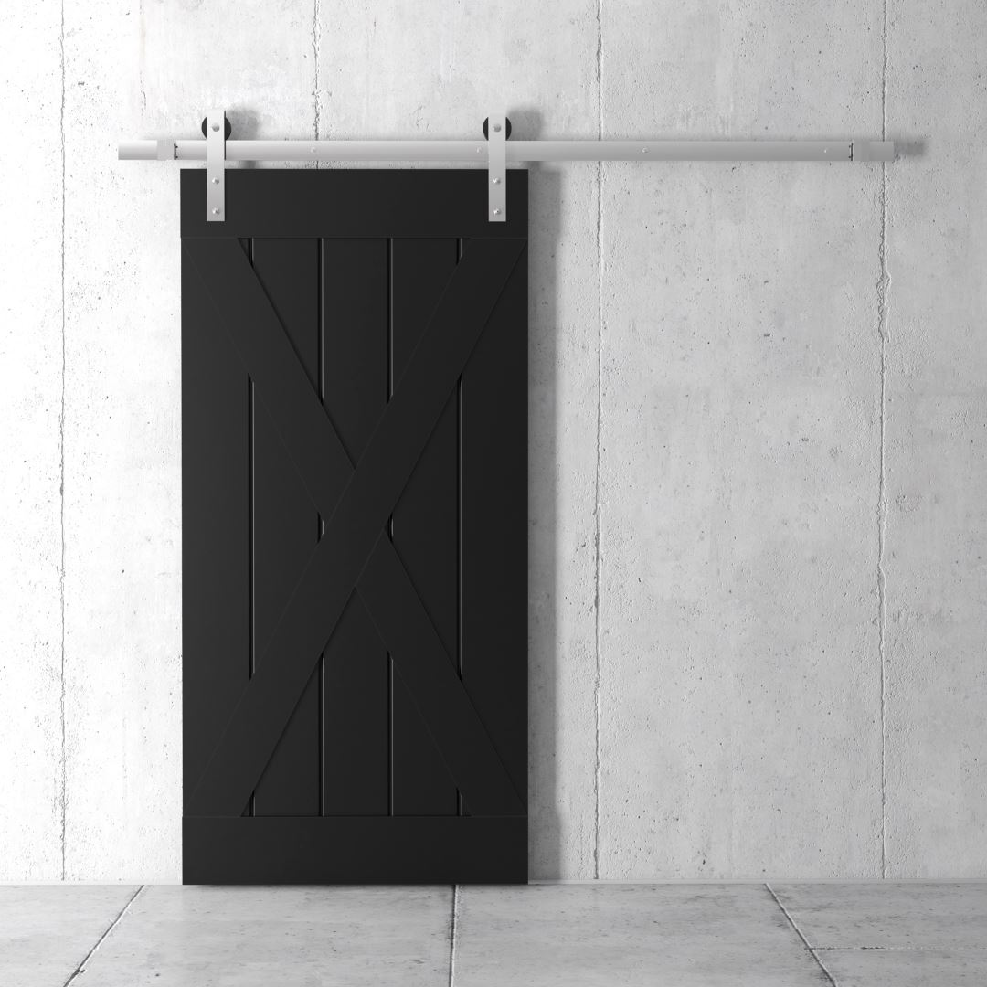 Urban Woodcraft | Grand X Espresso Barn Door 2 (1)