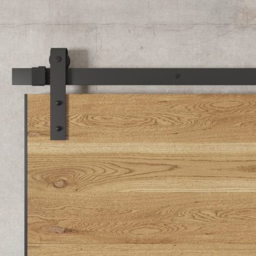 Urban Woodcraft | Oak Panel Natural Barn Door 4