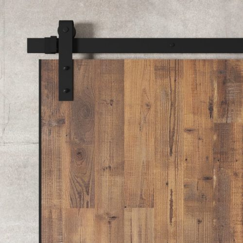 Urban Woodcraft | Reclaimed Wood Panel Natural Barn Door 3