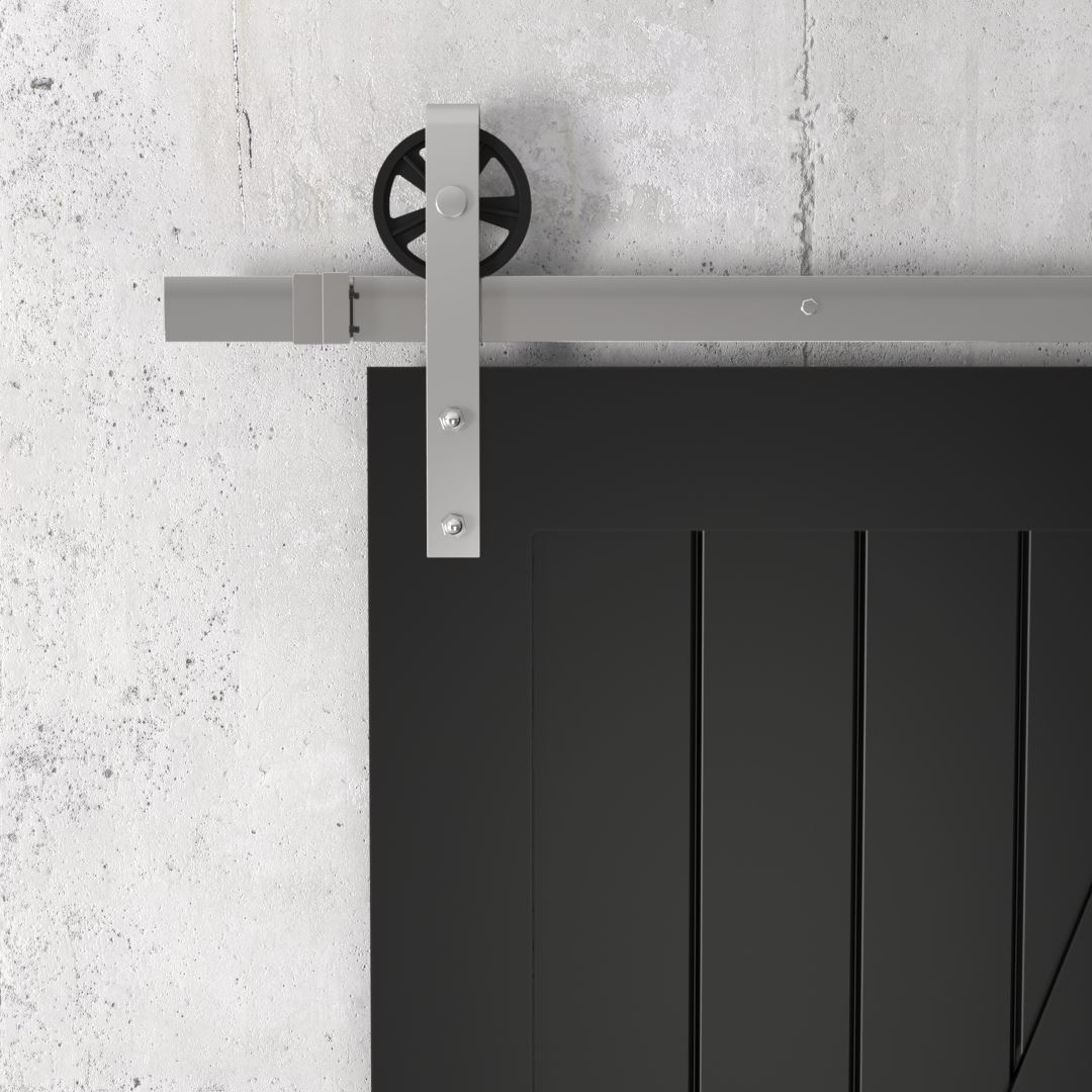 Urban Woodcraft | Z-Panel Espresso Barn Door 3