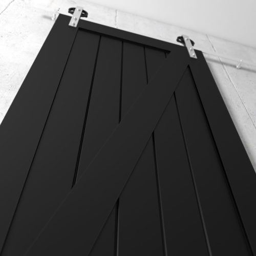 Urban Woodcraft | Z-Panel Espresso Barn Door 4