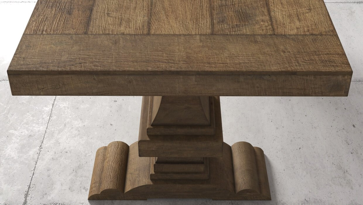 Castello Dining Table | Restoration Hardware Style Tables