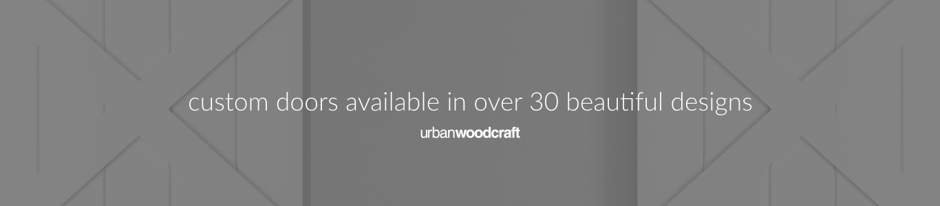 Urban Woodcraft | Barn Doors Banner 013