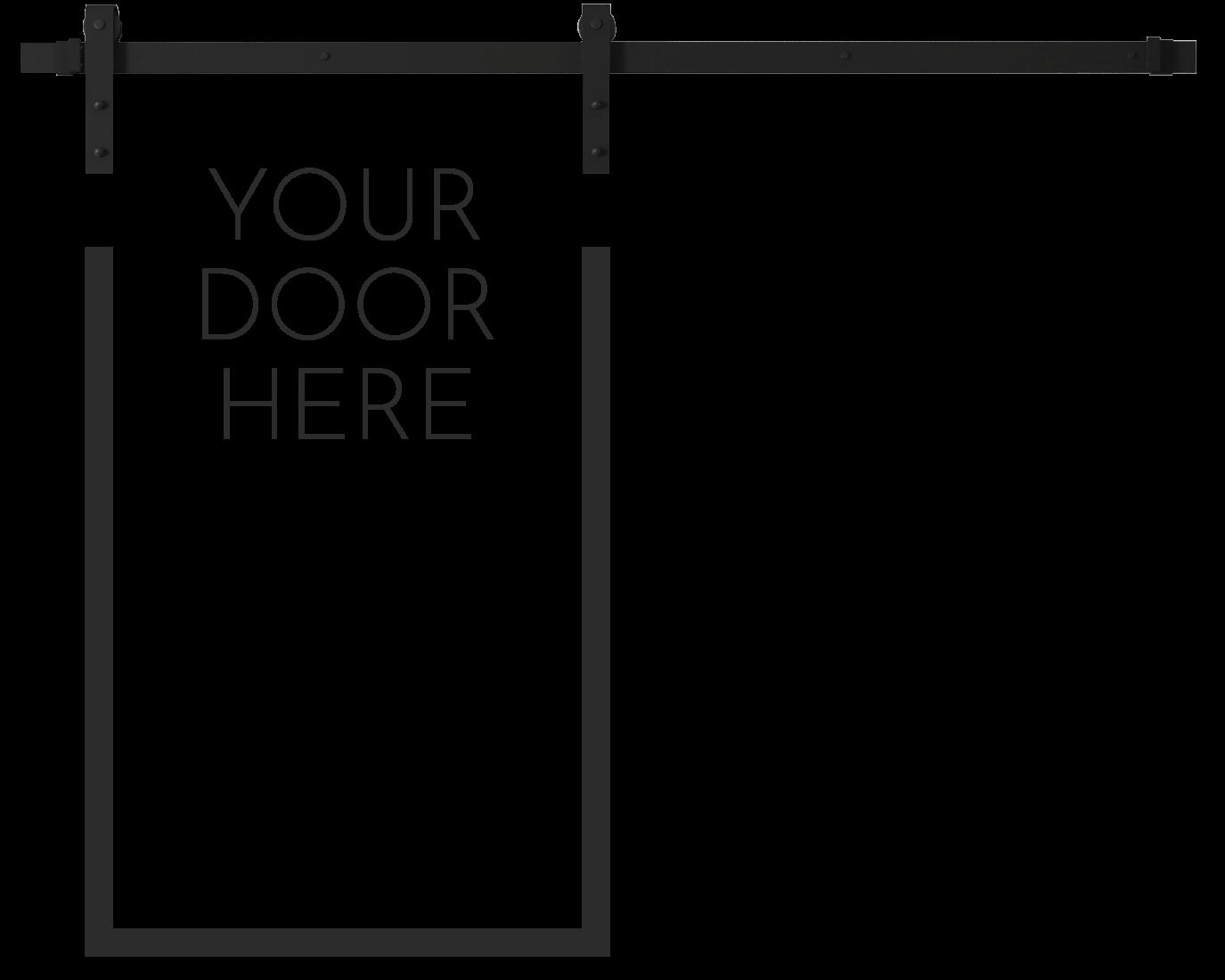 Custom Barn Door at Urban Woodcraft