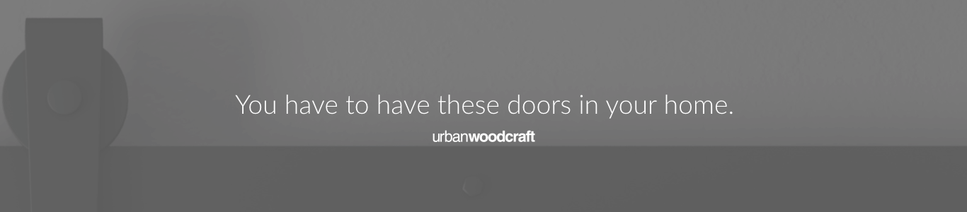 Urban Woodcraft | Barn Doors Banner 015