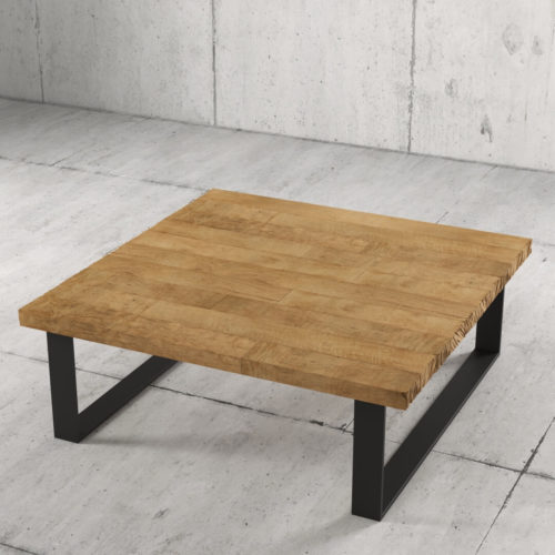 40'' Natural Wood Finish Soma Coffee Table 3