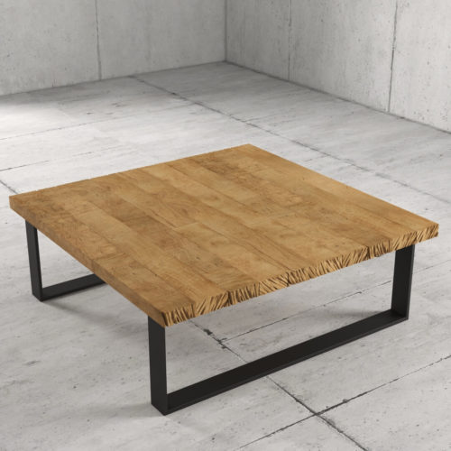 40'' Natural Wood Finish Soma Coffee Table 4