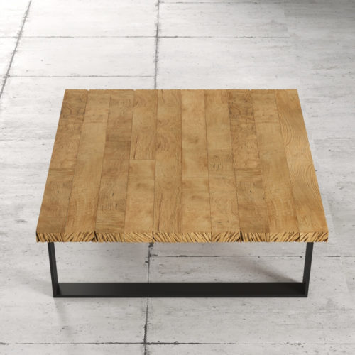40'' Natural Wood Finish Soma Coffee Table 5