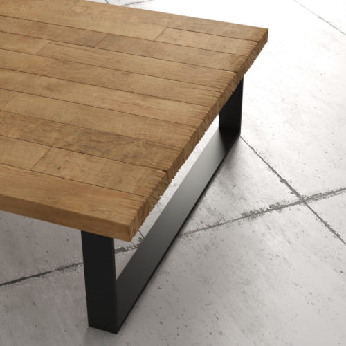 40'' Natural Wood Finish Soma Coffee Table 6
