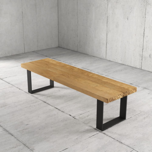 55'' Long Soma Coffee Table in Natural Wood Finish 4