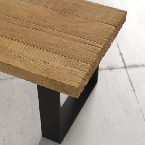 55'' Long Soma Coffee Table in Natural Wood Finish 6