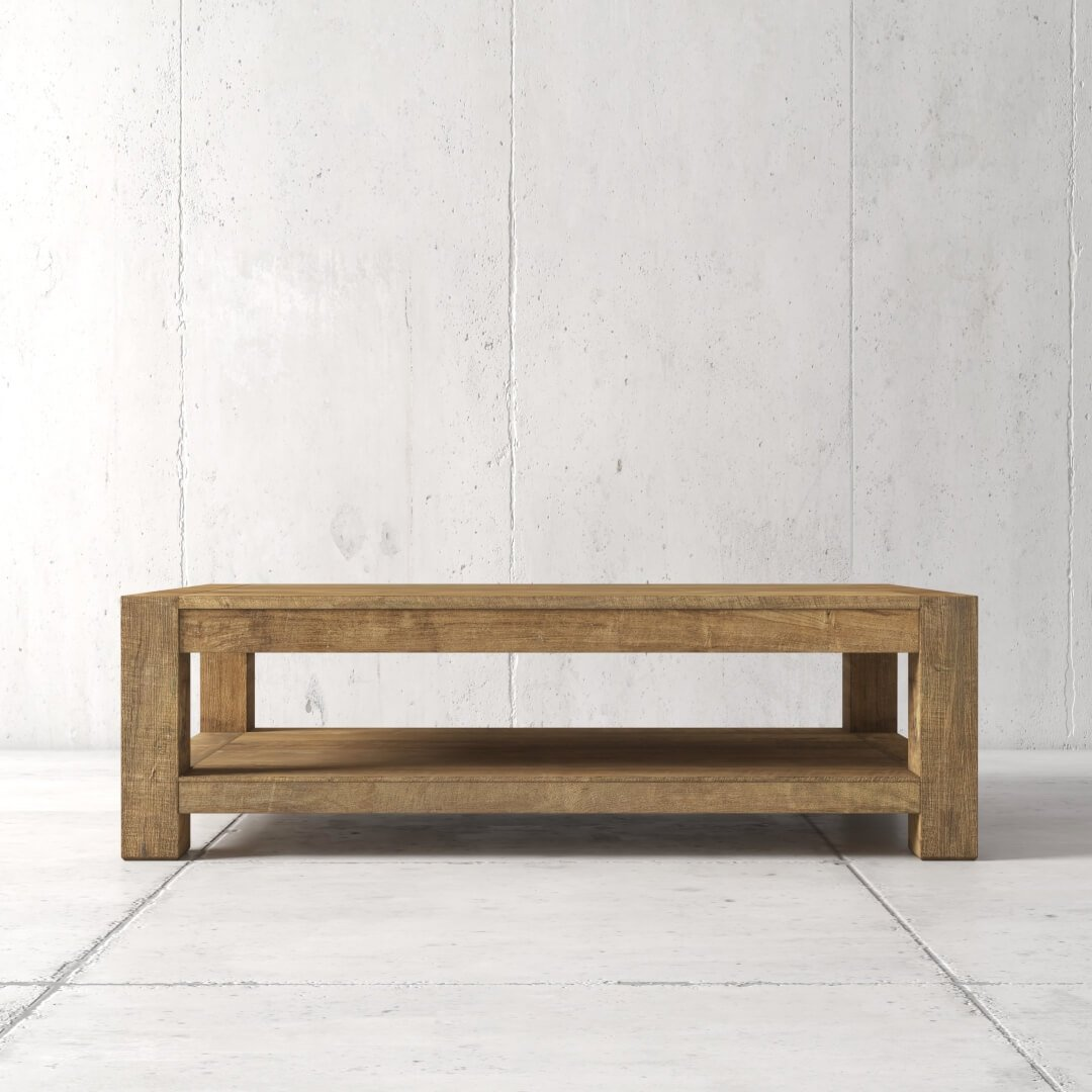 60'' Agency Coffee Table (Natural) by Urban Woodcraft 1 MAIN