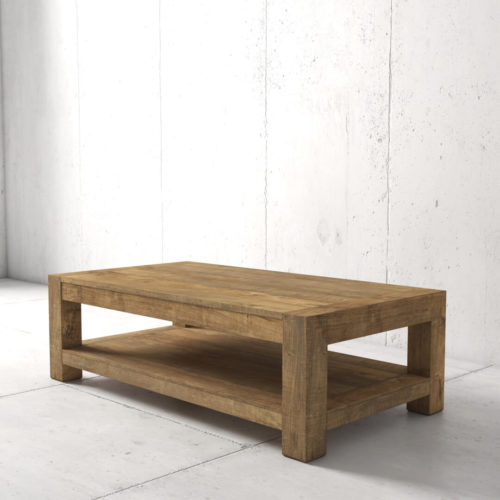 60'' Agency Coffee Table (Natural) by Urban Woodcraft 2