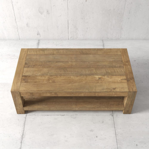 60'' Agency Coffee Table (Natural) by Urban Woodcraft 3