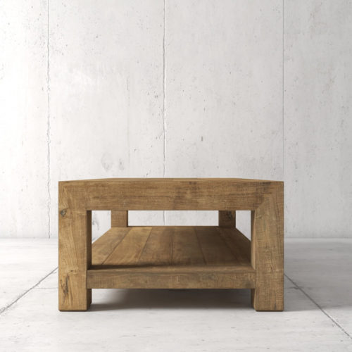 60'' Agency Coffee Table (Natural) by Urban Woodcraft 4