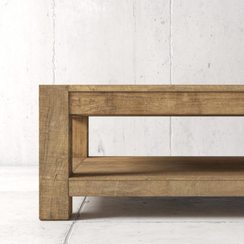 60'' Agency Coffee Table (Natural) by Urban Woodcraft 5