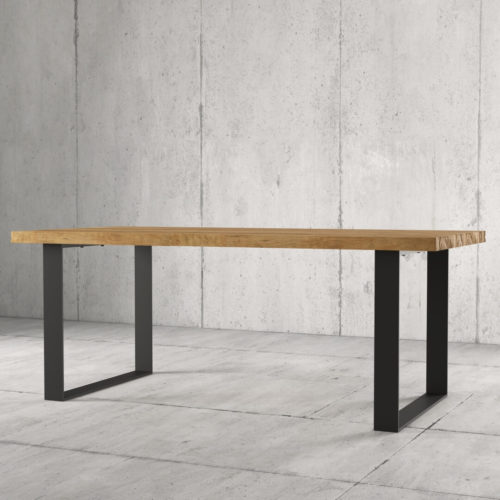 Urban Woodcraft 78'' Soma Natural Wood Dining Table 2