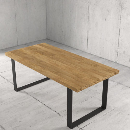 Urban Woodcraft 78'' Soma Natural Wood Dining Table 4