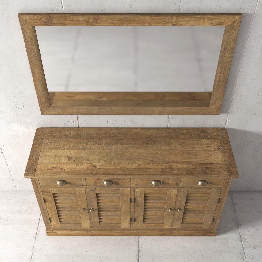 55'' Urban Woodcraft Amalfi Dining Buffet 3