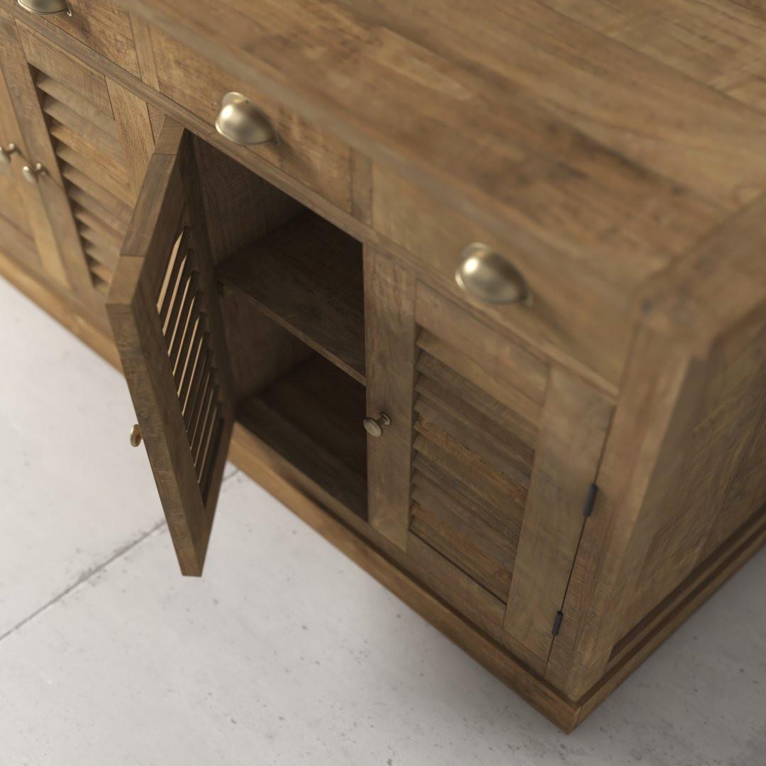 55'' Urban Woodcraft Amalfi Dining Buffet 4