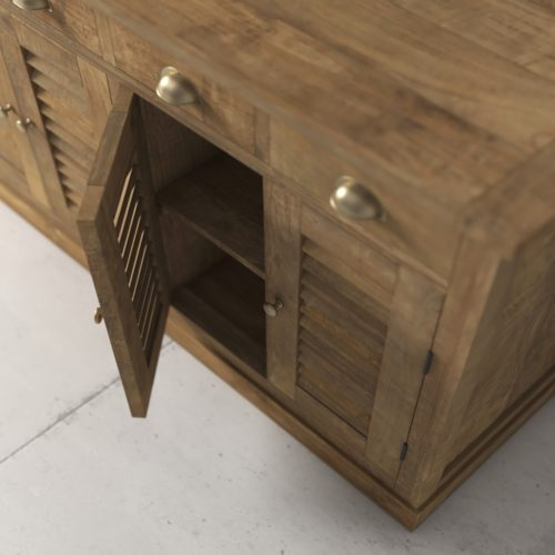 55'' Urban Woodcraft Amalfi Dining Buffet 4