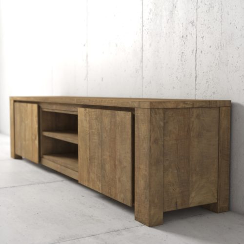 "71"" Marcola TV Stand Natural 