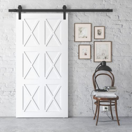 XFORD DOOR WHITE LIFE STYLE NO HANDLE
