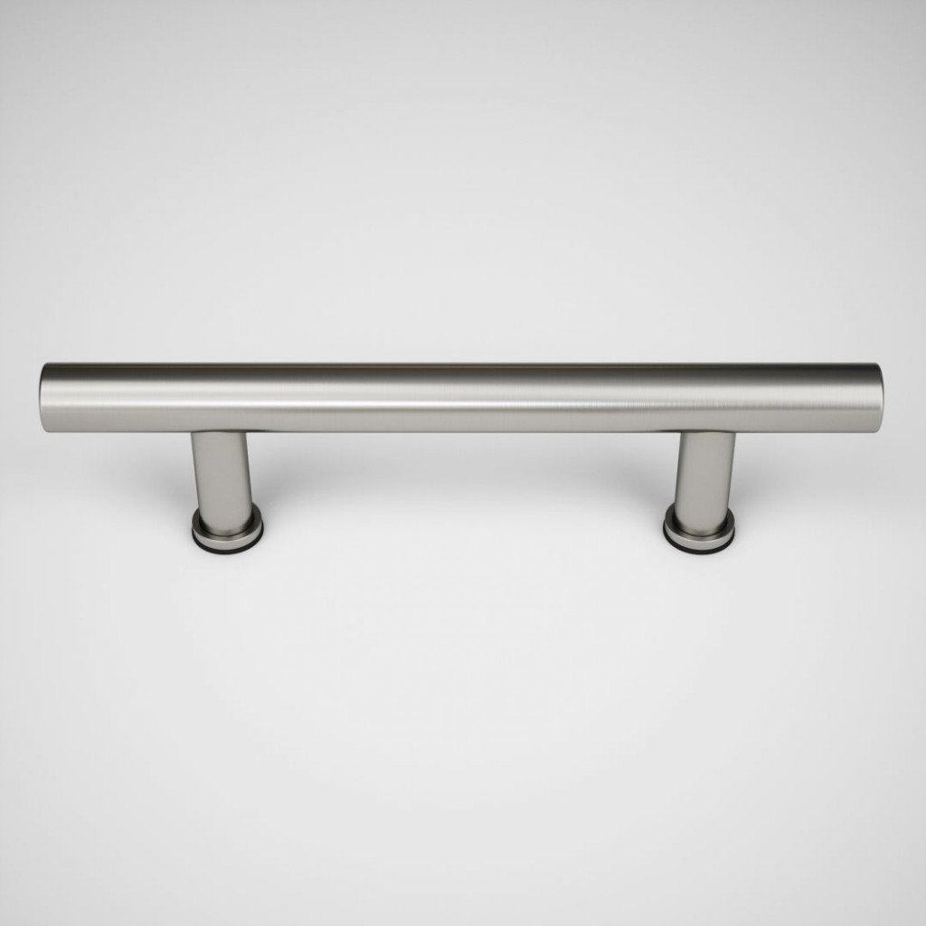 17th Street Barn Door Handle Brushed Nickel Urban Woodcraft