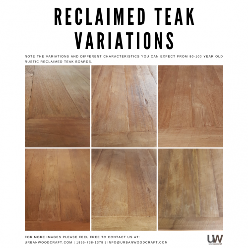 Natural (Reclaimed Teak)