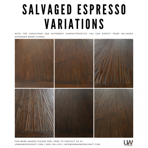 Salvaged Espresso variations
